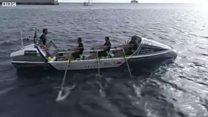 Oarsmen take on Atlantic Challenge