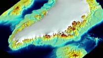 ¿Cómo se vería Groenlandia sin hielo?