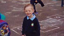 Boy, four, left on school bus