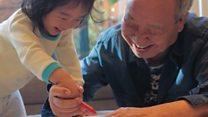Avô sul-coreano faz sucesso no Instagram com aquarelas criadas para os netos