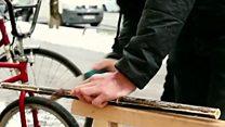 बांस के डंडे से बनी साइकिल देखी है आपने?