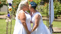 Australia's first same sex wedding