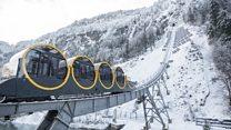 สวิตเซอร์แลนด์เปิดบริการรถรางขึ้นเขาสูงชันที่สุดในโลก