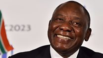 Who is the ANC's new leader?