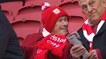 The 100-year-old Bristol City fan