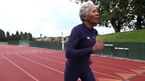 What does it take to be a record-breaking sprinter at 84?
