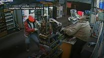 Thief robs shop using golf club