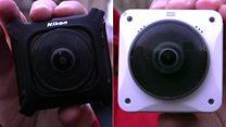 360度カメラ、ニコンとコダックを実地で比較