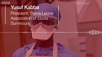 'Some men get erection problem': Ebola Survivour