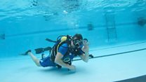 Diver fulfils dying wish