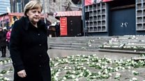 Merkel speaks out on attack anniversary