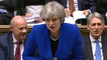 May and Corbyn trade blows over Welsh NHS