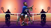 Tanzania's wheelchair tennis ace