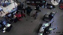 Fatal supermarket fight caught on camera