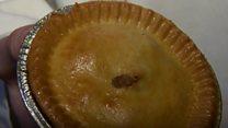 World pie eating champion retains title