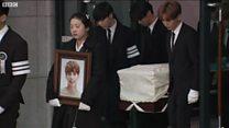 พิธีเคลื่อนศพ จงฮยอน ไปสุสาน