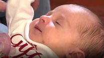 Frozen embryo record mum on 'miracle'