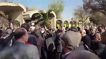 ادامه اعتراضات ، نه سوریه نه غزه ، حقوق بازنشسته