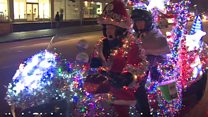 Bristol's Christmas motorbike hits the streets