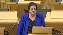 MSPs in tears during FMQs