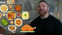 Bodybuilder Flex reveals Christmas diet
