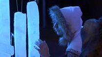 Удивительные звуки ледяной музыки в Лондоне