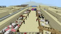 School uses Minecraft to teach history