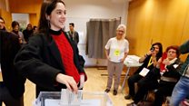 Teen casts vote on ex-president's behalf