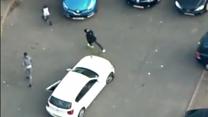 """I've been shot"" man shouts at police"