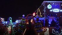 The house with 100,000 Christmas lights