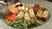 Christmas dinner given Indian twist