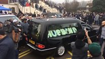 Taxi driver's funeral takes place