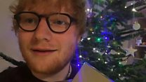 Ed Sheeran gets Christmas number one
