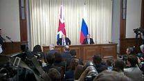 بریتانیا: نمیتواند از دخالتهای روسیه چشم پوشی کند.