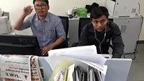 ရိုက်တာသတင်းထောက်နှစ်ယောက်ကို အမြန်ဆုံးလွတ်ပေးဖို့ မြန်မာပြည်ရောက် ရိုက်တာအကြီးအကဲ ပြော။