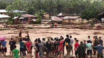"""العاصمة """"تمبين"""" تقتل أكثر من مئة في الفلبين"""