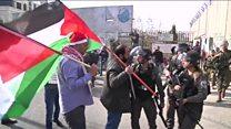 مواجهات في بيت لحم وتشييع جثماني شابين في غزة