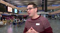 Euston 'banquet' for London's homeless
