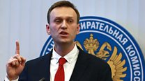 """""""Розовые и упитанные"""": речь и спор Алексея Навального в ЦИКе"""