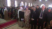أول قداس عيد ميلاد في الموصل بعد طرد التنظيم