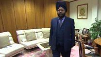 मुलाक़ात बर्मिंघम में बसे भारतीय कारोबारी से