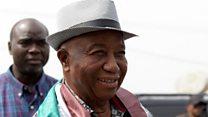 """Boakai: """"un grand jour pour la démocratie"""""""
