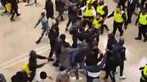 Police break up Westfield Stratford fight