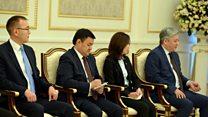 Өзбекстандын президенти Шавкат Мирзиёевдин сүйлөгөн сөзү