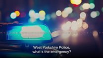 Inappropriate 999 calls to police in West Yorkshire
