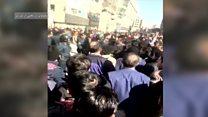 تظاهرات در مشهد در اعتراض به مشکلات اقتصادی