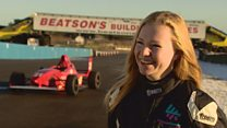 The 16-year-old girl making motorsport history