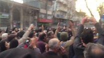 گسترش اعتراضات مشهد به چند شهر دیگر