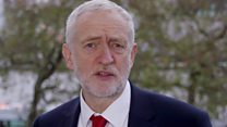 Jeremy Corbyn shares new year message