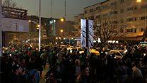 ادامه ناآرامیها در ایران؛ سخنان تلویزیونی حسن روحانی هم معترضان را آرام نکرد